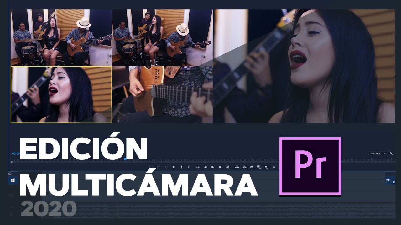 Tutorial Edición multicámara con Adobe Premiere - tutorial completo 2020 RED CREATIVA